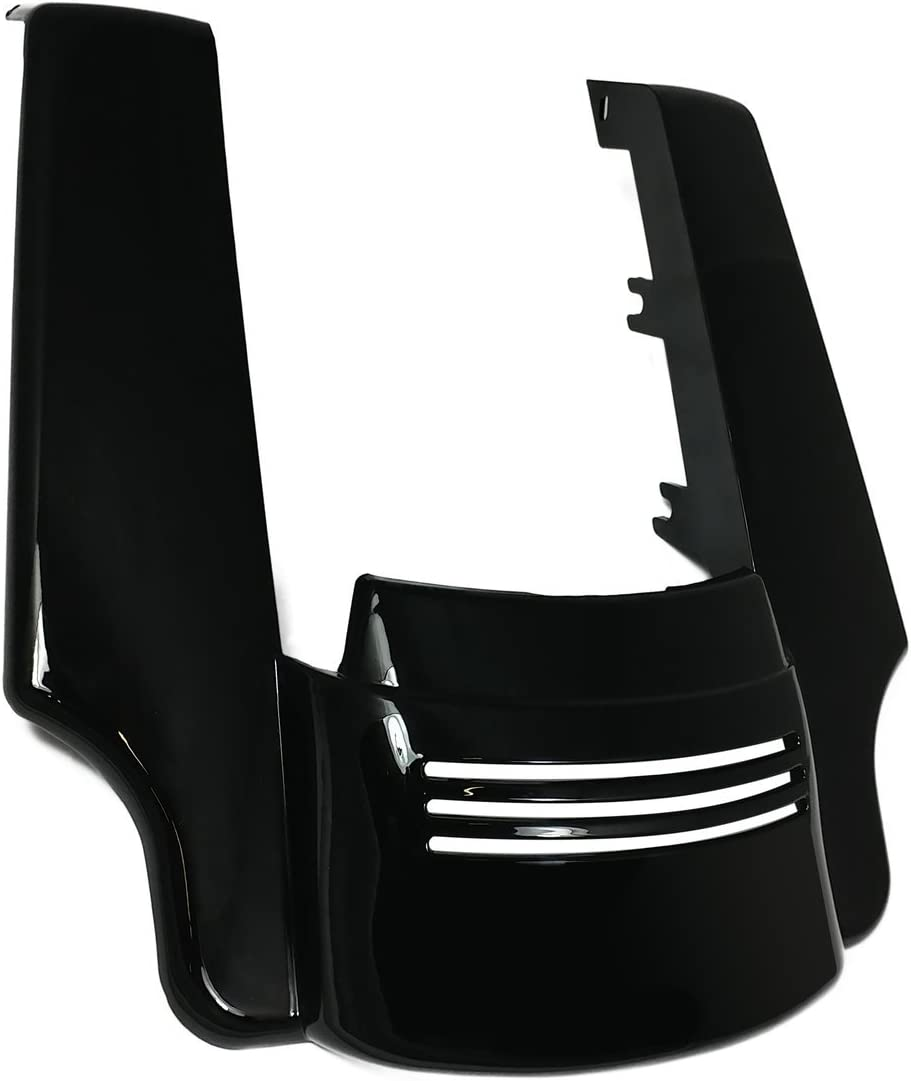 Bagger price Brothers BB-HD1584-134 Black Fender Panel 2021 model Angled Ext ABS
