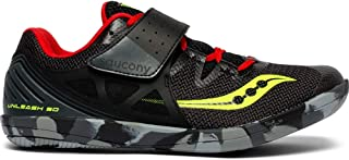 Men's Unleash SD2 Track and Field Shoe black/red