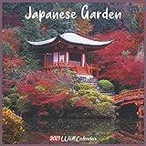 Japanese Garden 2021 Wall Calendar: Official Japanese Garden Calendar 2021, 18 Months