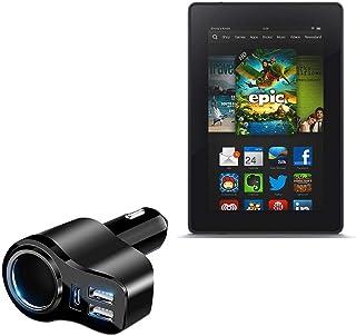 Carregador de carro BoxWave para Kindle Fire HD 7 (2ª geração 2012), [Carregador de carro PD XtraPower] Carregador de carr...
