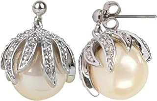 Vogue Zircon Stud earring For Women, Pearl earring