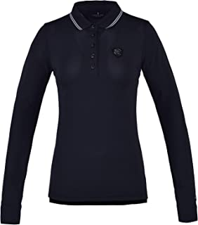 Kingsland Equestrian Chambly Technical Long Sleeve Pique Womens Polo Shirt