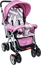 R for Rabbit Lollipop Lite Colorful Stroller and Pram with Easy Fold for Newborn Baby | Kids of 0 to 3 Years (Purple Grey)