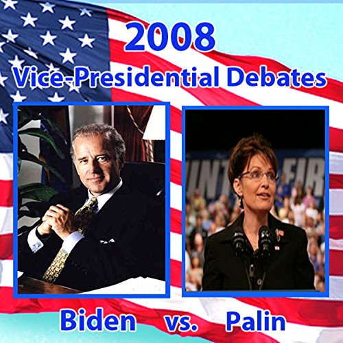2008 Vice Presidential Debate     Sarah Palin and Joe Biden (10/02/08)              By:                                                                                                                                 Sarah Palin,                                                                                        Joe Biden                           Length: 1 hr and 31 mins     130 ratings     Overall 3.5
