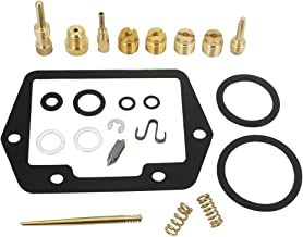 KIPA Carburetor Rebuild repair kit for Honda CT90 CT 90 Trail 90 1970-1975 Float bowl gasket slide needle Clip float needle seat main jet #62#65#72#78 & #35 slow jet air screw spring O-Rings