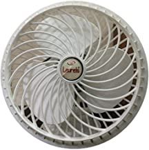 VARSHINE Happy Home Copper Winding, High Speed Cabin Fan (White 02, 9 Inches)