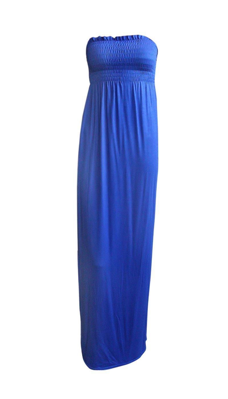 Available at Amazon: Ditzy Fashion Women's Plain Sheering Boob Tube Maxi Dress