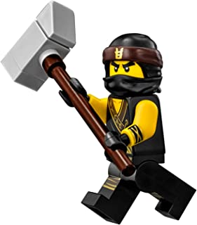 LEGO The Ninjago Movie Cole Minifigure (in Ninja Suit with Weapon) 70618