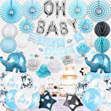 Elephant Baby Shower Decorations for Boy | Elephant Baby Shower Boy Baby Shower Decorations | Baby Elephant Baby Shower decorations | Baby Shower Elephant Decorations Boy | Baby Boy Shower Decorations