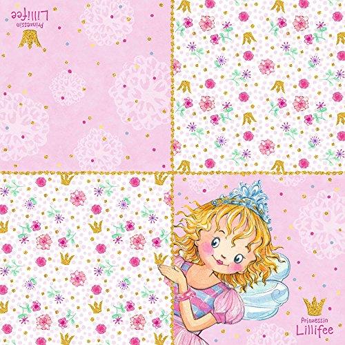 Spiegelburg 13632 Servietten Prinzessin Lillifee \'Ich bin Prinz.!\' (20 Stück)