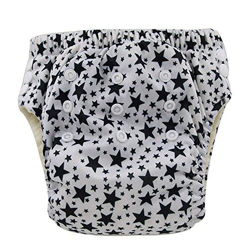 Ohbabyka réutilisables pour bébé Diaper Pantalons de formation, bébé couches couches étanche