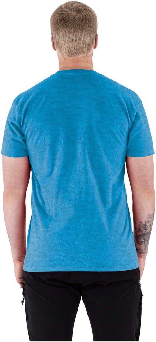 FXR Mens Helium T-Shirt 2021 Blue//Grey - Large