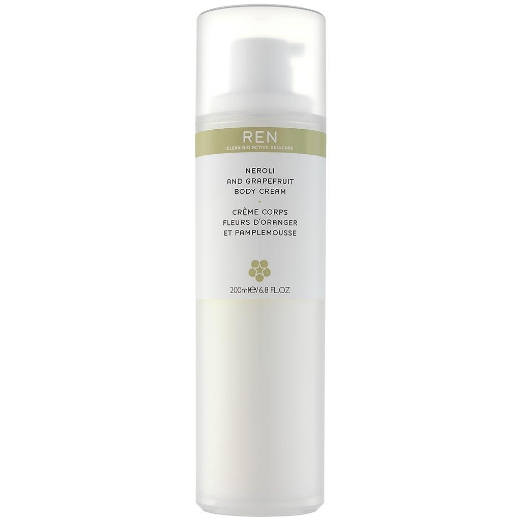 ヒープ沿って永久Renネロリとグレープフルーツボディクリーム200ミリリットル (REN) (x6) - REN Neroli and Grapefruit Body Cream 200ml (Pack of 6) [並行輸入品]