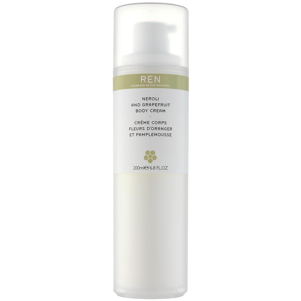 怠けた簡潔なちなみにRenネロリとグレープフルーツボディクリーム200ミリリットル (REN) (x6) - REN Neroli and Grapefruit Body Cream 200ml (Pack of 6) [並行輸入品]