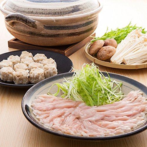 名古屋コーチンの肉本来のおいしさをご自宅 小牧発祥 名古屋コーチンしゃぶしゃぶ&しゅうまい詰め合せ
