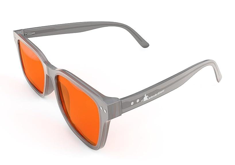 Blue Light Blocking Glasses for Computer, Mobile, Gaming, Sleep - Anti Eyestrain, Headache - DefenderShield Signature Line