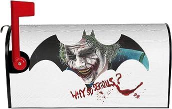 De Joker Mailbox Cover, Magnetische Brievenbus Cover Wraps voor Buiten Tuin Home Decor in