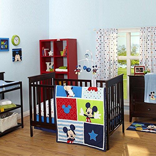 Disney Mickey 3 pièces Parure de lit de bébé