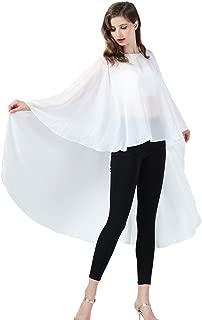 BEAUTELICATE Damen Stola Schal Chiffon Umhang Cape Elegant Für Hochzeit Brautkleid Abendkleid Festlich Ballkleid Strandkleid