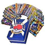 Pokemon-Karte 120 Stücke, Pokemon-Spielkarte für Kinder Englisch Flash Card Lernspielzeug für die Entwicklung der Denkfähigkeit Pokémon Pet Elf Team Up Game Card, Fähigkeiten für Kinder entwickeln -