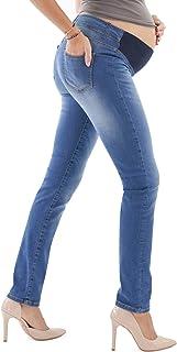 descuento extremo fabricado en Italia MAMAJEANS Premaman Jeans casi imposibles mono premaman con ligeros defectos de trama en el tejido