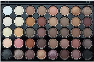 shamrock58 Popfeel Professional Cosmetic Matte Eyeshadow Cream Makeup Palette Shimmer Set 40 Color+ Brush Set