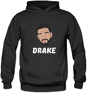 Ivantop Drake 2016 fashion Women's Hoodie Sweatshirt Black