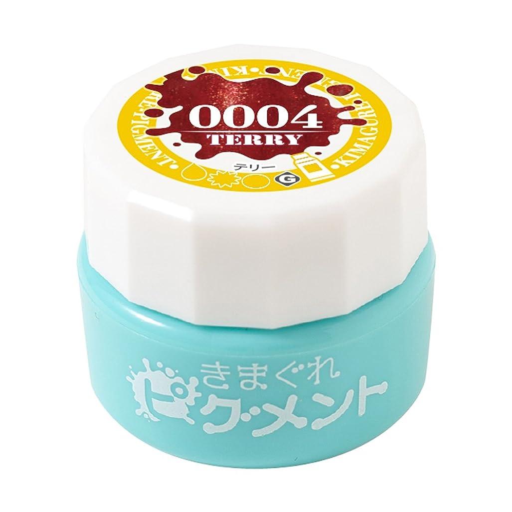 寄り添うステレオタイプミンチBettygel きまぐれピグメント テリー QYJ-0004 4g UV/LED対応
