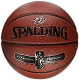 Spalding NBA Platinum Legacy 76-017Z Balón de Baloncesto, Hombre, Naranja,...