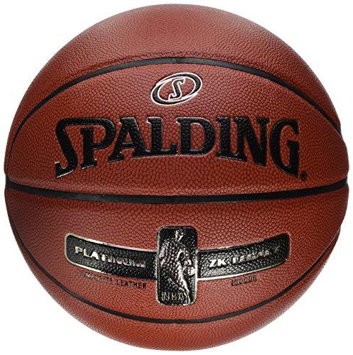 Spalding NBA Platinum Legacy 76-017Z Balón de Baloncesto, Hombre, Naranja, 7
