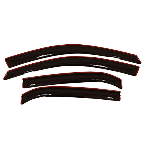 Auto Ventshade 194166 In-Channel Ventvisor Side Window Deflector, 4-Piece Set for