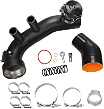 yjracing Turbo Air Intake Charge Hard Pipe Kit with 50MM BOV Fit for BMW N54 E90 E92 135i 335i 335