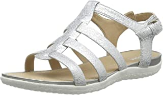 Geox Vega A, Sandales Bout ouvert Femme