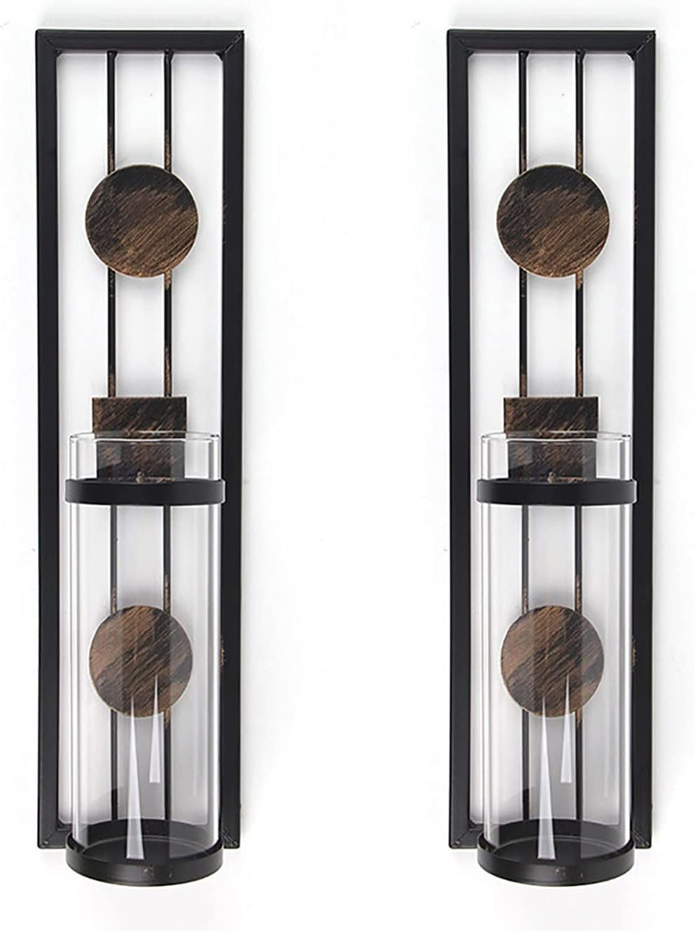 Max 70% OFF ZXCVBNM Wall Candle Holder Metal Ranking TOP13 -Style Scon Décor