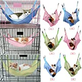 Yosoo Cat Cage Hammock, Comfortable Pet Hanging Bed Breathable Mesh, for Cute Small