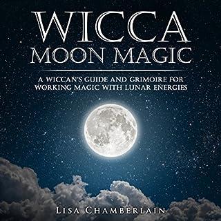 Wicca Moon Magic audiobook cover art