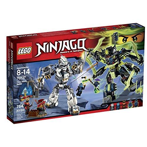 LEGO Ninjago 70737 Titan Mech Battle Building Kit by LEGO