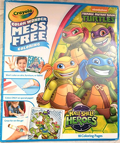 Crayola Color Wonder, Mess Free, TMNT Half Shell Heroes Coloring Pages