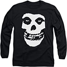 Popfunk Misfits Officially Licensed Skull Longsleeve T Shirt & Stickers