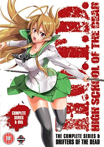 ????? HIGHSCHOOL OF THE DEAD + OVA?Drefters of the DEAD? ?????? DVD-BOX (?12?+OVA, 338?) ????????? ??????????????? HOTD ????? ???? ?????? ??? [DVD] [Import] [PAL, ????????????] by Unknown