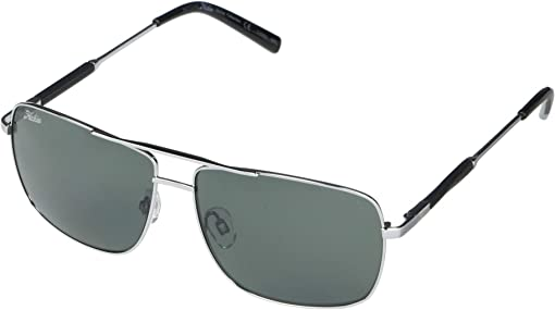 Shiny Gunmetal Frame/Grey Polarized PC Lens