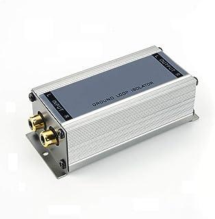 maxxcount Premium Entstörfilter Massetrennfilter (2 Kanal/Cinch) NF Trennübertrager   Ground Loop Isolator   Mantelstromfilter   Stereo Line Übertrager
