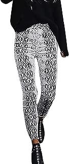snake print harem pants