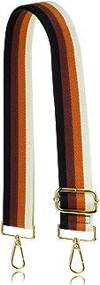 Allzedream Purse Strap Replacement Crossbody Handbag Stripe Wide Adjustable