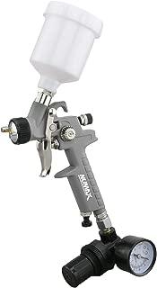NuMax SPS08 Pneumatic 0.8mm Tip Mini HVLP Gravity Feed Spray Gun with 125cc Plastic Cup