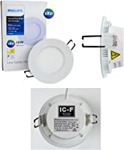 Philips LED Essential SmartBright Downlight Kit with Plug 10W DN024B 4000K