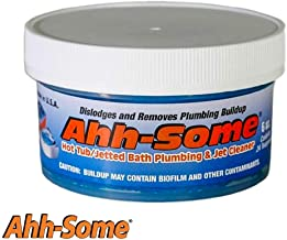 Ahh-Some- Hot Tub Cleaner, Clean Pipes & Jets Gunk Build Up   Clear & Soften Water for Jacuzzi, Jetted Tub, or Swim Spa   Top Water Clarifier 6oz.