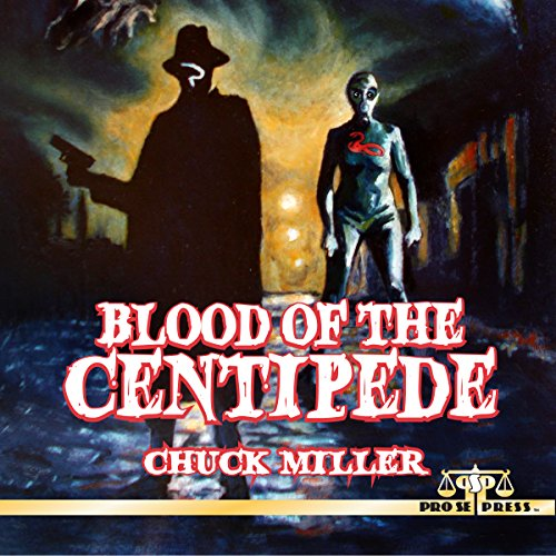 Blood of the Centipede audiobook cover art