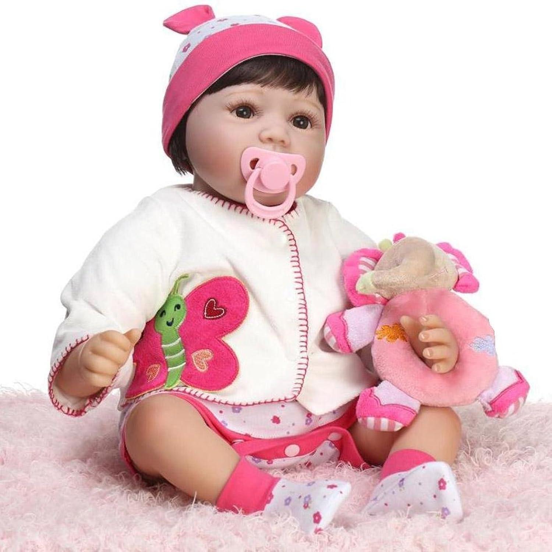 SHTWAD Simulation Wiedergeboren Baby Doll SchöNe MäDchen Spielzeug Soft Silikon Lebensechte Auge GeöFfnet Weihnachten Geschenk 55 cm B07LBC8L4T Mittlere Kosten  | Primäre Qualität