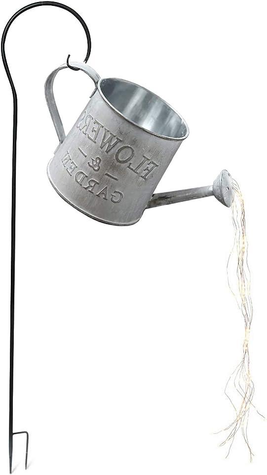 OPALLEY Wasserfall Form Twinkle Lichterketten,Garten Gießkanne Lichter,Lichterketten,Stern Typ Dusche Garten Kunst Licht für Outdoor, Garten, Party, Hochzeit, Weihnachtsbaum, Rebe